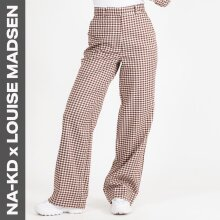 NA-KD - checked suit pants