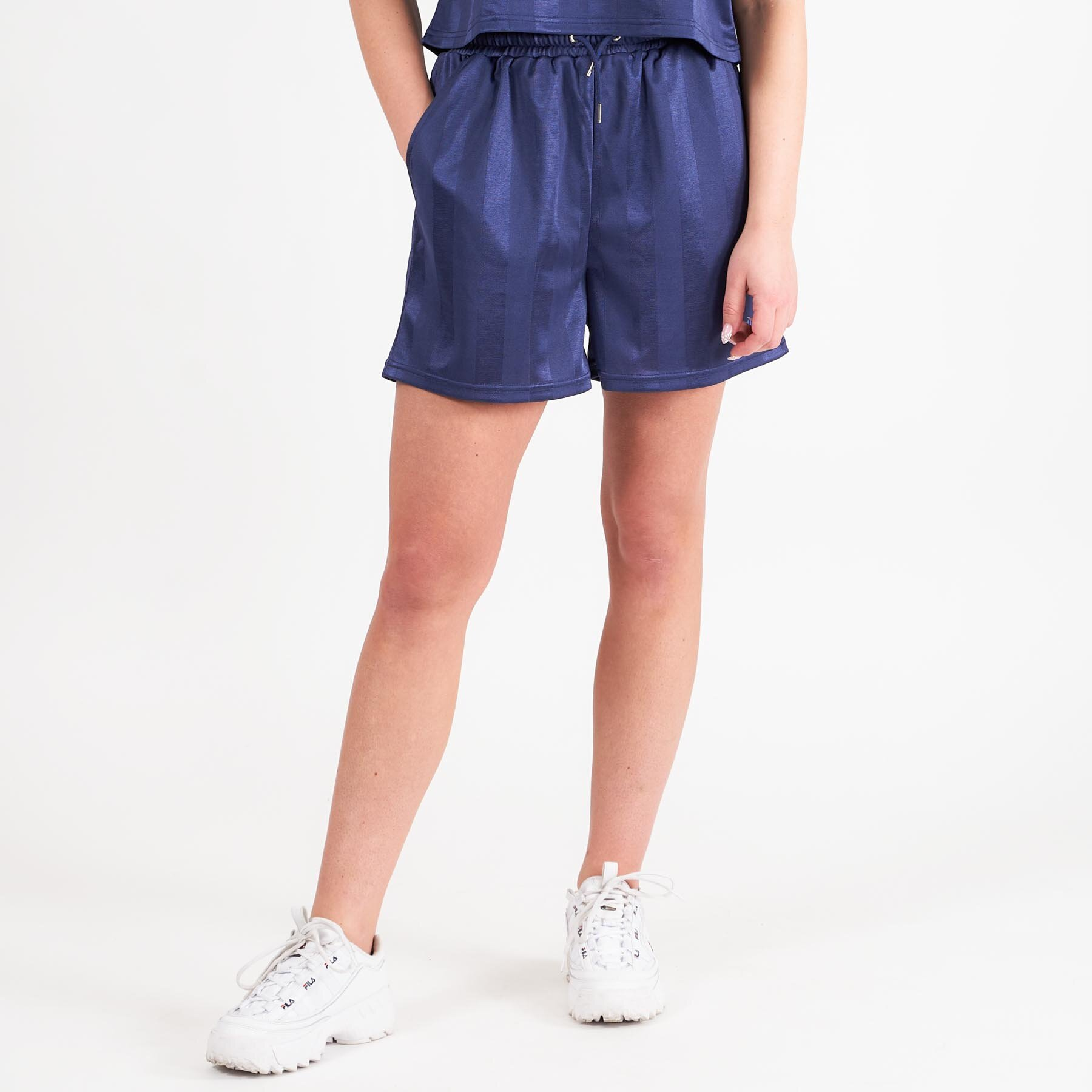 Fila – FIZZA wide leg short – Shorts til damer – CROWN BLUE – XS