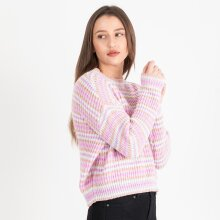 Pieces - PCGINA O-NECK KNIT