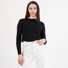 Pure friday - Purbalko ls frill top cropped