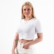 Tommy Jeans - TJW CROP RUCHE TOP