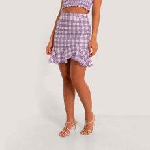 NA-KD - Bottom flounce skirt