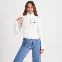 Tommy Jeans - Half zip thru sweat