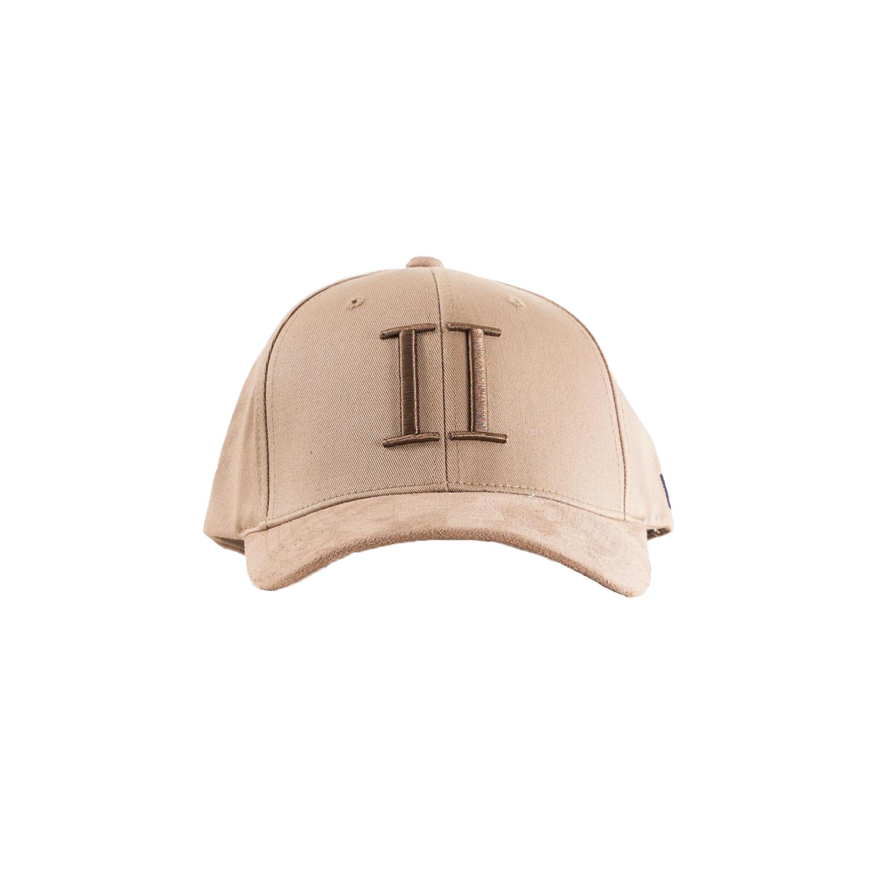 Les Deux - Baseball cap suede - Accessories til herre - 810335-DARK SAND/MOU - ONE S