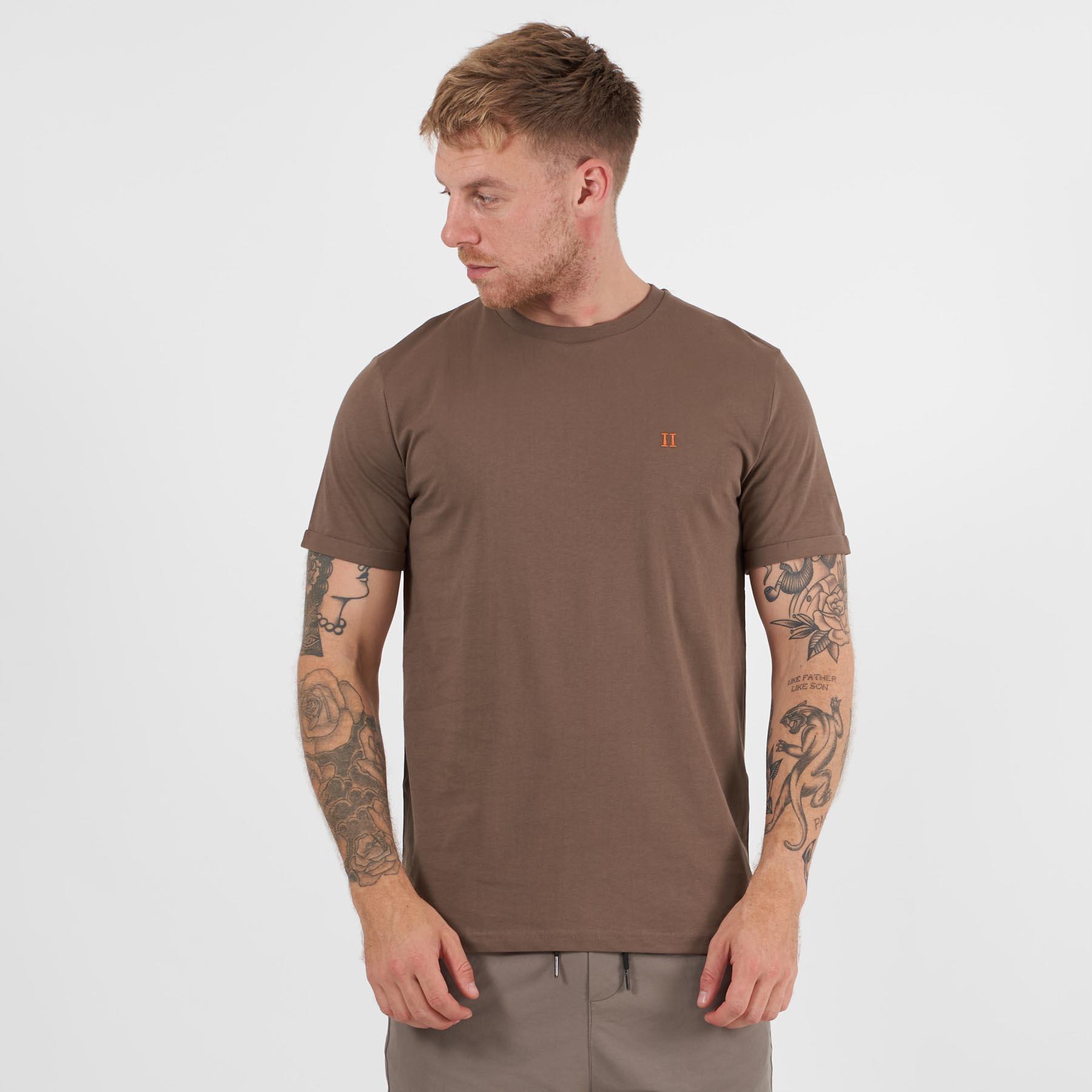 Les Deux - Nørregaard t-shirt - T-shirts til mænd - Brun - S