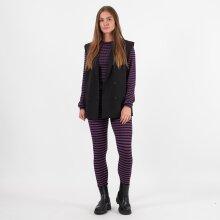A-view - Violet knit blouse