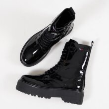 Tommy Hilfiger Shoes - Patent flat boot