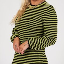 A-view - Violet knit dress