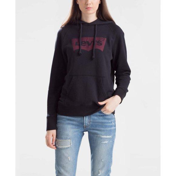 levi strauss – Graphic sport hoodie fra kingsqueens.dk
