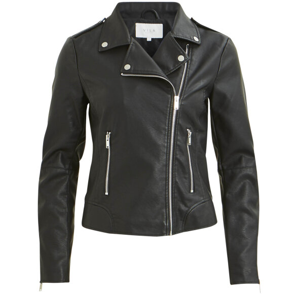 Image of   Vicara faux leather jacket