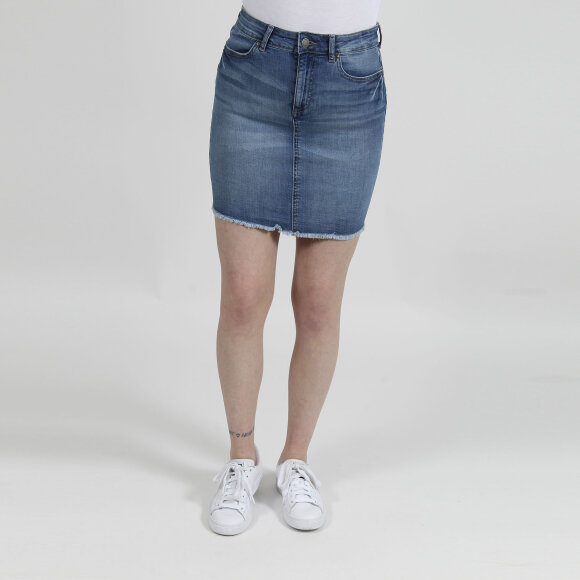 Pcida mw denim skirt LBLD